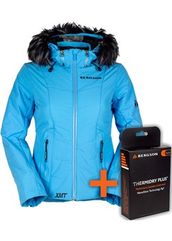 Kurtka Narciarska SNOWSWIFT STX Ethereal Blue  Bergson  promocja  - kod rabatowy