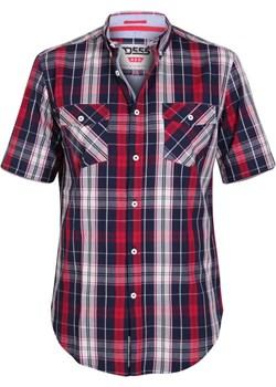 Duze rozmiary Koszula z krótkim rękawem kratka Terell (3XL) Duke Of London  8xl - kod rabatowy