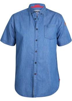 Duze rozmiary Koszula z krótkim rękawem jeans Arnold (3XL) Duke Of London  8xl - kod rabatowy