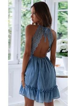 Sukienka Gianna Blue L Noshame NOSHAME.PL - kod rabatowy