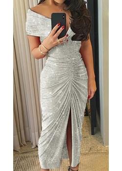 Sukienka Saylor Silver S Noshame  NOSHAME.PL - kod rabatowy