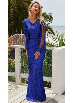 Sukienka cekinowa Jenesis Blue S Noshame NOSHAME.PL - kod rabatowy