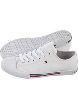 Trampki Tommy Hilfiger Low Cut Lace-Up Sneaker T3X4-30692-0890 100 White (TH79-a)  Tommy Hilfiger ButSklep.pl - kod rabatowy