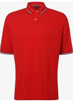 Tommy Hilfiger - Męska koszulka polo, czerwony  Tommy Hilfiger vangraaf - kod rabatowy