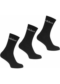 Adidas skarpety czarne, 3 pary, Rozmiar EU 39-42  adidas City Sklep - kod rabatowy