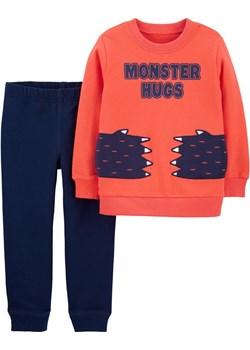 Zestaw 2 el. bluza i spodnie dresowe wór okazyjna cena Carter's OshKosh - kod rabatowy