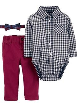 Zestaw Body koszula spodnie mucha  Carter'S Carter's OshKosh wyprzedaż  - kod rabatowy