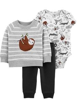 Zestaw bluza body spodnie leniwiec Carter'S  Carter's OshKosh - kod rabatowy