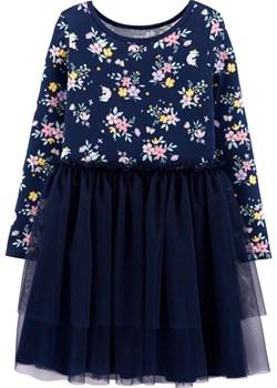 Sukienka w kwiaty z tiulem Carter'S  promocja Carter's OshKosh  - kod rabatowy
