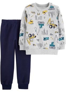Zestaw 2 el. bluza joggersy maszyny promocja Carter's OshKosh - kod rabatowy