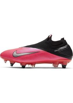 Korki piłkarskie na miękką murawę Nike Phantom Vision 2 Elite Dynamic Fit SG-PRO Anti-Clog Traction - Czerwony  Nike okazyjna cena Nike poland  - kod rabatowy