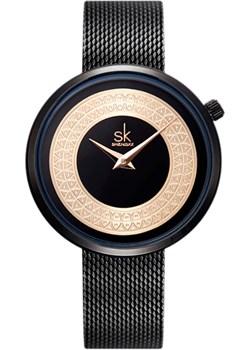 Zegarek SK na bransolecie mesh - SK94 Shengke  wyprzedaż niwatch.pl  - kod rabatowy