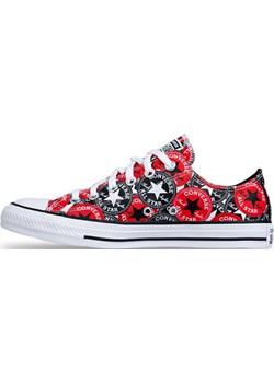 Sneakers buty damskie Converse Chuck Taylor All Star OX czerwone (166986C) Converse  bludshop.com - kod rabatowy