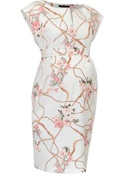 Sukienka ciążowa i do karmienia Mojry Druk 9Fashion  Piękny Brzuszek - kod rabatowy