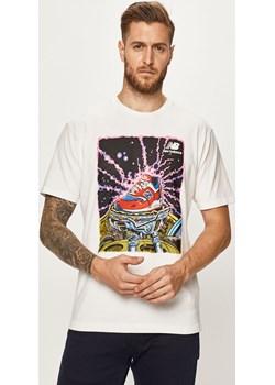 New Balance - T-shirt  New Balance okazyjna cena ANSWEAR.com  - kod rabatowy