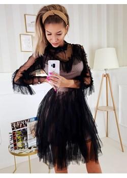 Sukienka Roxy Czarna Długi Rękaw  Fashionyou  - kod rabatowy