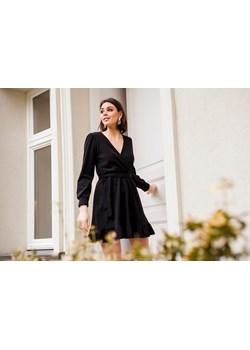 Boho czarna sukienka z falbaną ALICE Endoftheday  END OF THE DAY - kod rabatowy