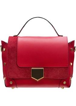 Damska skórzana torebka do ręki Glamorous by GLAM - czerwony  Glamorous By Glam Glamadise.pl - kod rabatowy