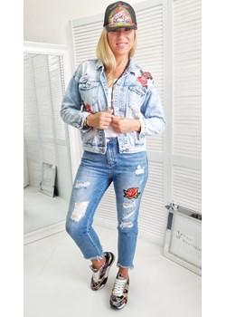Kurtka colpire jeans wyprzedaż yourboutique - kod rabatowy