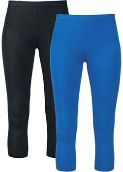 Black Premium by EMP - Made For Double Comfort - Legginsy - czarny niebieski    - kod rabatowy