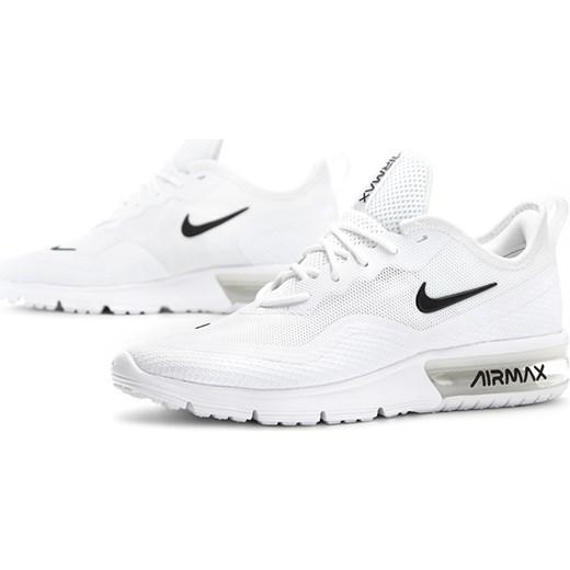 Buty sportowe damskie Nike do biegania air max sequent białe