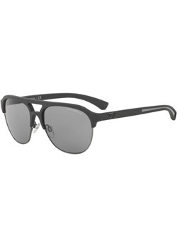Męskie czarne okulary Emporio Armani EA 4077 5100/1 58/16 140 2N  Emporio Armani promocyjna cena ROOMOUTLET.PL  - kod rabatowy