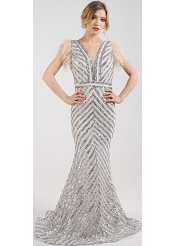Ekskluzywna długa sukienka  Rokado  promocyjna cena  - kod rabatowy