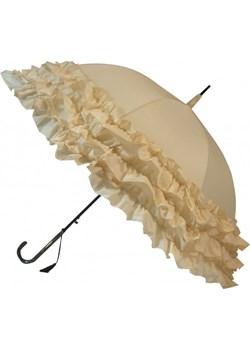 Trzy falbany beżowy parasol Boutique Frill  Soake Parasole MiaDora.pl - kod rabatowy