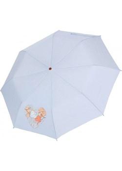 Pastelowy błękit - parasolka składana półautomat Airton 3631 Airton  Parasole MiaDora.pl - kod rabatowy
