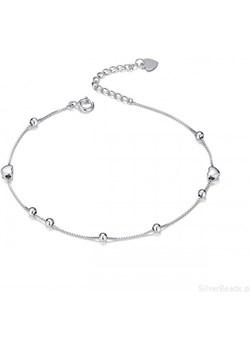 S128 Serce bransoletka srebrna 925 regulacja Silverbeads.pl SilverBeads - kod rabatowy