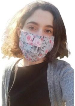 Maska maseczka bawełniana Ella Dora  Mustache.pl - kod rabatowy