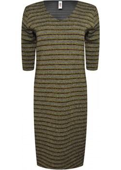 Sukienka z dekoltem w serek   elite - kod rabatowy
