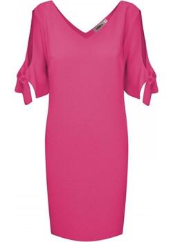 Sukienka z pęknięciem na ramieniu   elite - kod rabatowy
