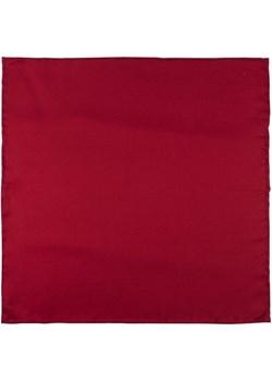 Poszetka jedwabna czerwona gladka EM 154 Em Men`s Accessories  EM Men's Accessories - kod rabatowy