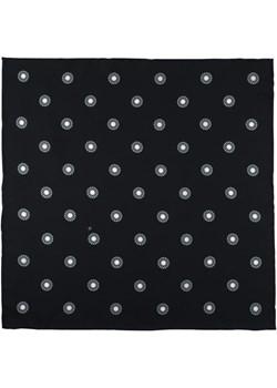 Poszetka jedwabna czarna w grochy EM 192 Em Men`s Accessories  EM Men's Accessories - kod rabatowy