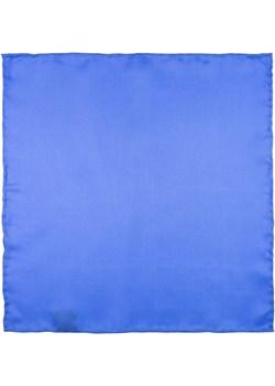 Poszetka jedwabna niebieska gładka EM 147 Em Men`s Accessories  EM Men's Accessories - kod rabatowy