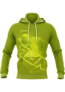 BLUZA Z KAPTUREM RUN Neonowa zieleń S Vision Wear Sport visionwearsport - kod rabatowy