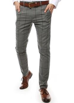 Spodnie męskie ciemnoszare UX2449  Dstreet promocja   - kod rabatowy