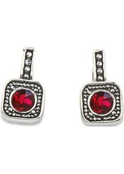 Srebrne kolczyki z kryształami Swarovskiego K3 1798 Polcarat Design   - kod rabatowy