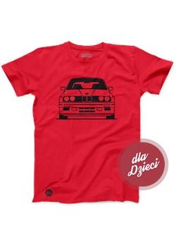 Czerwona koszulka dziecięca BMW E30 M3   sklep.klasykami.pl - kod rabatowy
