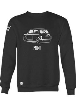 Czarna bluza z samochodem MINI Cooper sklep.klasykami.pl - kod rabatowy