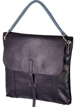 PIAZZA ekskluzywna czarna listonoszka Designs Fashion  okazja Designs Fashion Store  - kod rabatowy