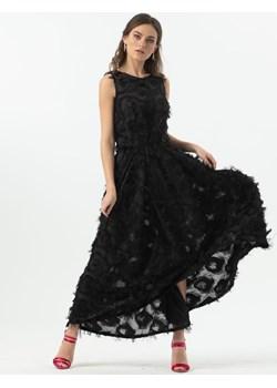 PEACOCK EYE - sukienka asymetryczna 3D   My Image Art - kod rabatowy