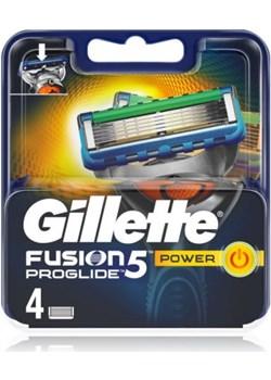 Gillette Fusion Proglide Power Wkład do Maszynki 4 szt dla mężczyzn  Gillette Faldo - kod rabatowy