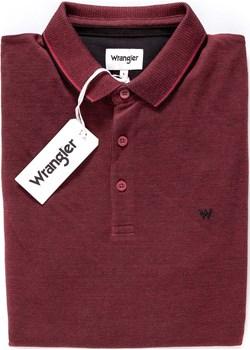 WRANGLER LS REFINED POLO RED W746KHX47  Wrangler okazja YouNeedit.pl  - kod rabatowy