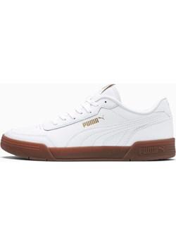 PUMA Obuwie Sportowe Caracal, Biały Złoty, rozmiar 39, Odzież  Puma wyprzedaż PUMA EU  - kod rabatowy
