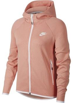 Bluza damska Nike Sportswear Tech Fleece - Różowy rozowy Nike Nike poland okazja  - kod rabatowy