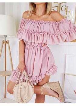 Sukienka Hiszpanka VIKI pudrowy róż by Fashionyou Fashionyou   - kod rabatowy