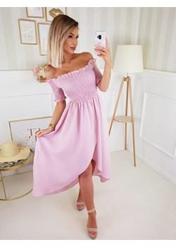 Sukienka Hiszpanka Venus Różowa by Fashionyou Fashionyou   - kod rabatowy