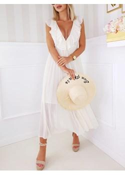 Sukienka Pola Krem Fashionyou   - kod rabatowy